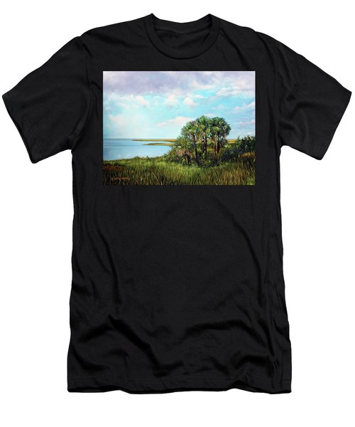 Florida Palms Men's T-Shirt (Athletic Fit)