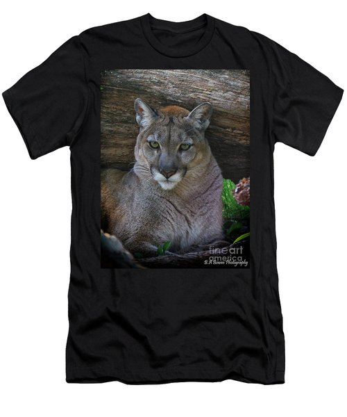 Florida Panther Men's T-Shirt (Athletic Fit)