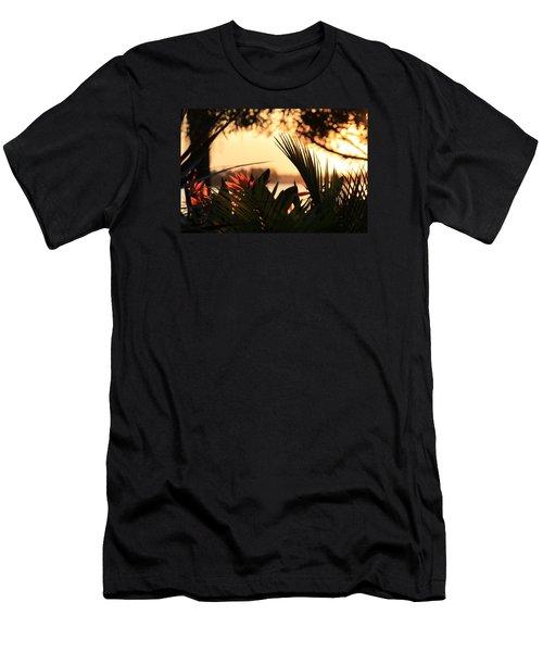 Florida Sunrise Men's T-Shirt (Athletic Fit)