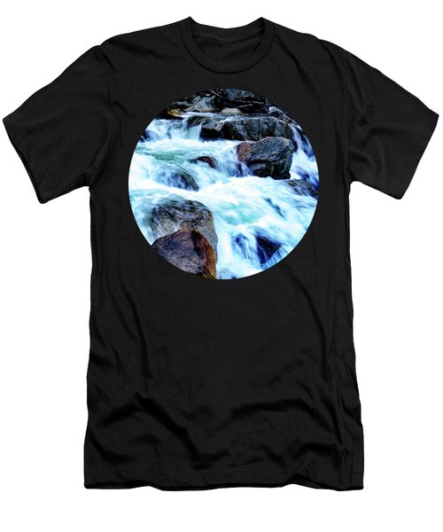 Flow Men's T-Shirt (Slim Fit) by Adam Morsa