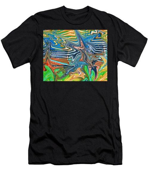 Flow Sketch Men's T-Shirt (Athletic Fit)