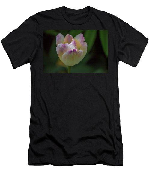 Flower 654853 Men's T-Shirt (Athletic Fit)