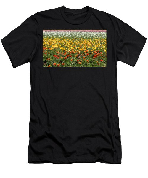 Flower Blanket From Carlsbad Men's T-Shirt (Athletic Fit)