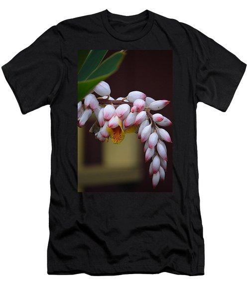 Flower Buds Men's T-Shirt (Slim Fit) by Lori Seaman