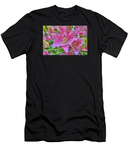 Flower Delight Men's T-Shirt (Athletic Fit)