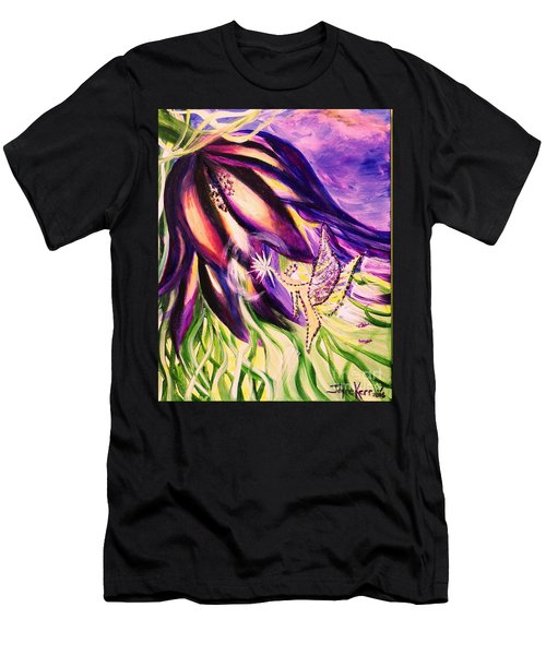 Flower Faerie Men's T-Shirt (Athletic Fit)