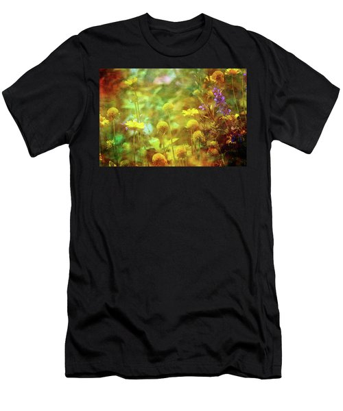 Flower Garden 1310 Idp_2 Men's T-Shirt (Athletic Fit)