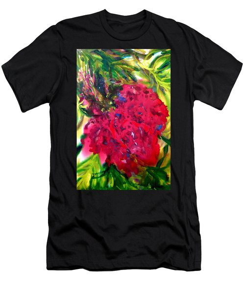 Flower In The Garden Men's T-Shirt (Athletic Fit)