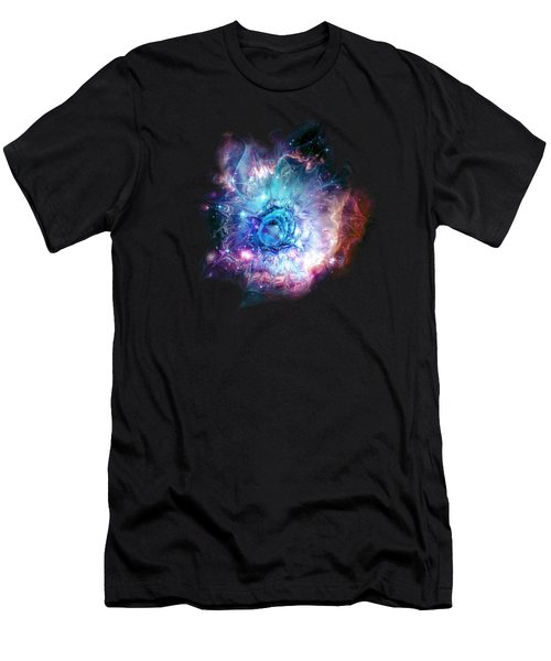 Flower Nebula Men's T-Shirt (Athletic Fit)