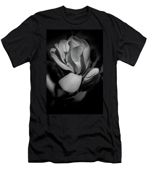 Flower Noir Men's T-Shirt (Athletic Fit)