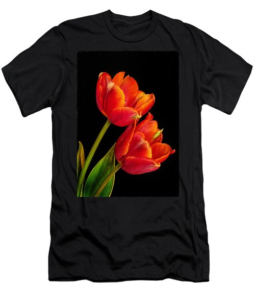 Flower Of Love Men's T-Shirt (Athletic Fit)
