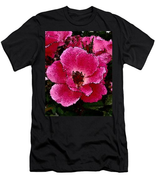 Flower Painting Collection 19 Men's T-Shirt (Athletic Fit)