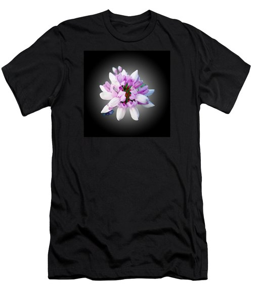 Flower  Securigera Varia Men's T-Shirt (Slim Fit) by Mike Breau
