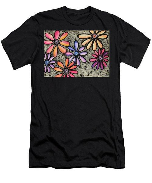 Flower Series 4 Men's T-Shirt (Athletic Fit)
