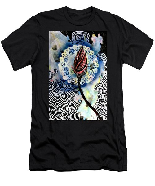 Flower Study 1 Men's T-Shirt (Slim Fit) by Luke Galutia
