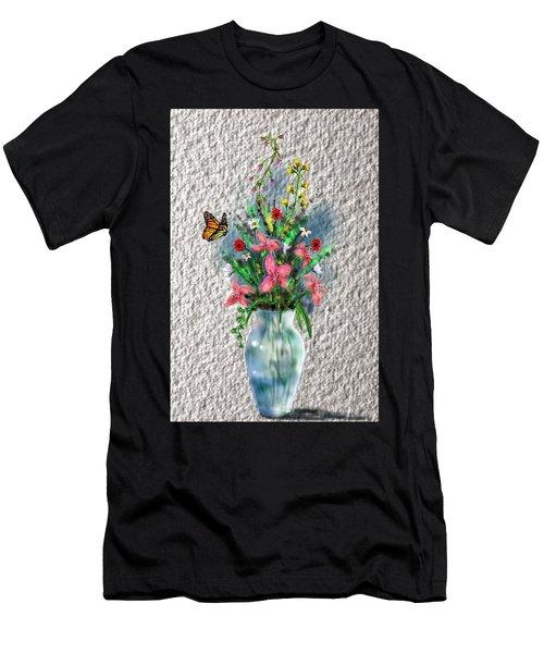 Flower Study Three Men's T-Shirt (Athletic Fit)
