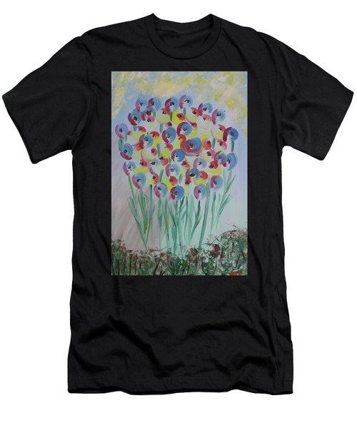 Flower Twists Men's T-Shirt (Athletic Fit)
