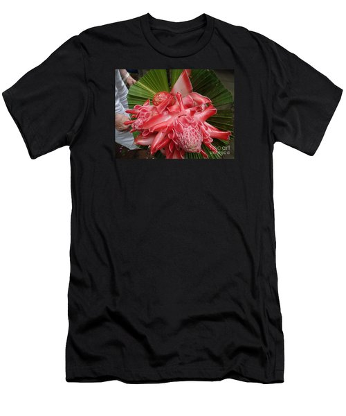 Flowering Coconiut Sao Tome Men's T-Shirt (Athletic Fit)