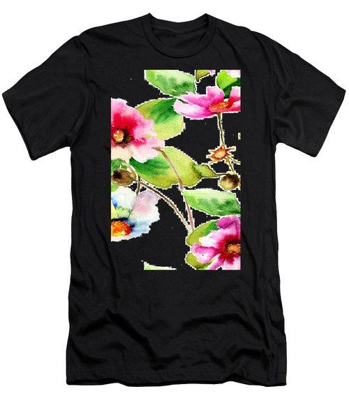 Flowers 03 Men's T-Shirt (Athletic Fit)