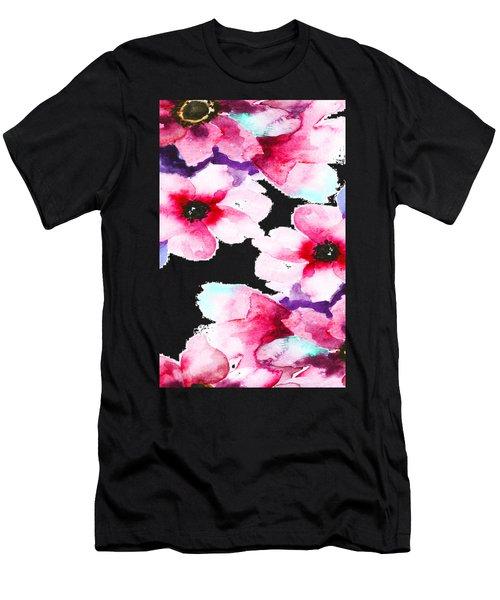 Flowers 04 Men's T-Shirt (Athletic Fit)
