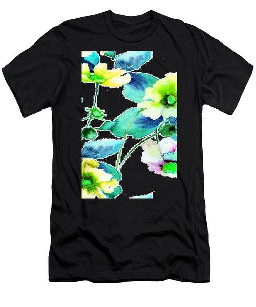 Flowers 08 Men's T-Shirt (Athletic Fit)