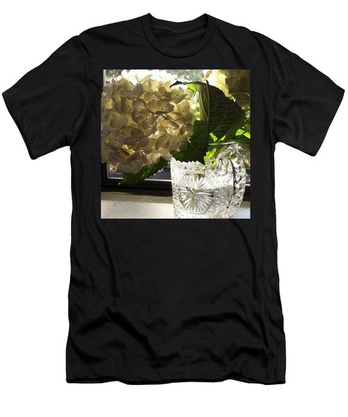 Flowers Always Inspire! Men's T-Shirt (Athletic Fit)