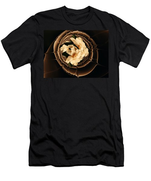 Flowers And Chocolate Men's T-Shirt (Athletic Fit)