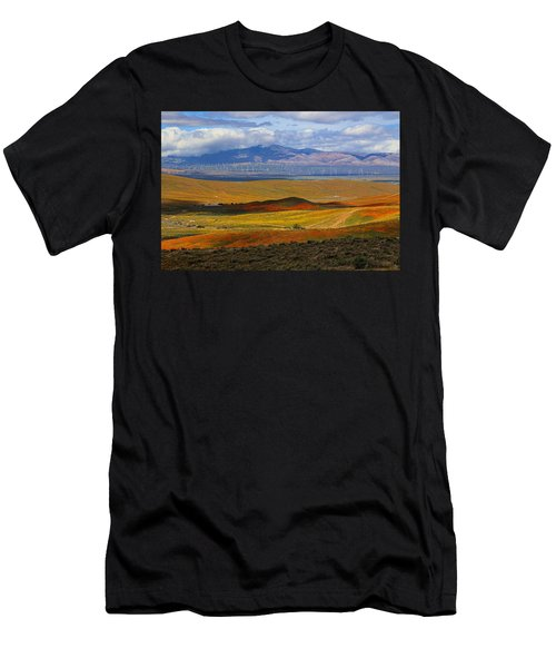 Flowers Carpet Men's T-Shirt (Athletic Fit)