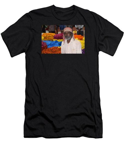 Flowers For Sale Men's T-Shirt (Athletic Fit)
