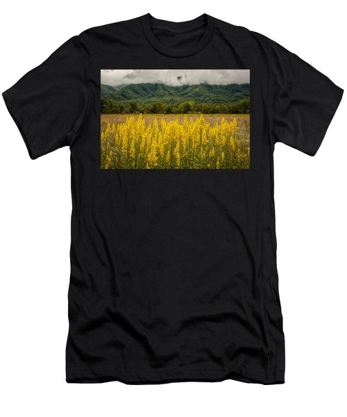 Flowers In Cades Cove Men's T-Shirt (Athletic Fit)