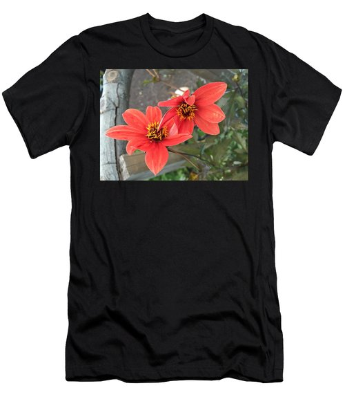 Flowers In Love Men's T-Shirt (Athletic Fit)
