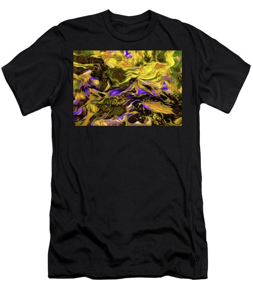 Flowers In The Garden Men's T-Shirt (Athletic Fit)