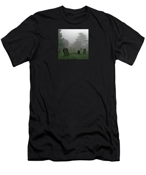 Flowers In The Mist Men's T-Shirt (Athletic Fit)