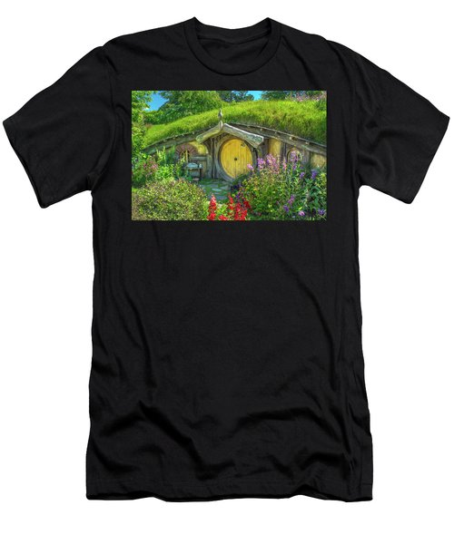 Flowers In The Shire Men's T-Shirt (Athletic Fit)
