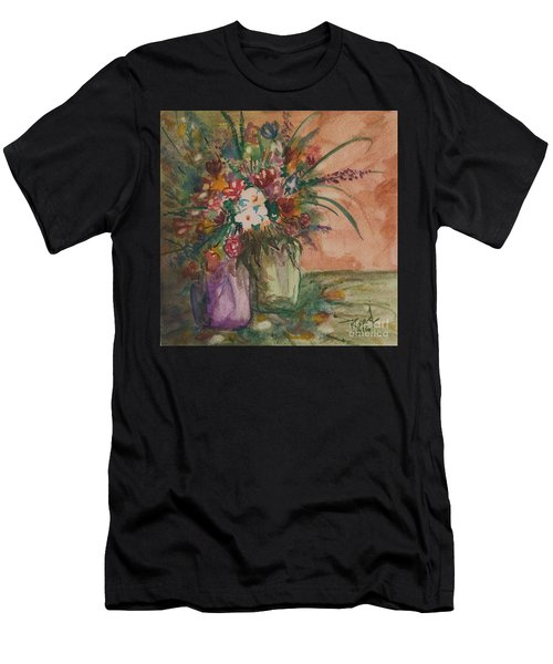 Flowers In Vases 2 Men's T-Shirt (Athletic Fit)