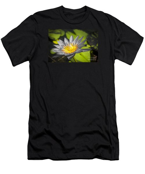 Flowers Of Grey Men's T-Shirt (Athletic Fit)