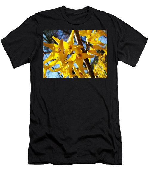Flowers Of The Sky Men's T-Shirt (Athletic Fit)