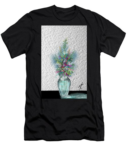 Flowers Study Two Men's T-Shirt (Athletic Fit)