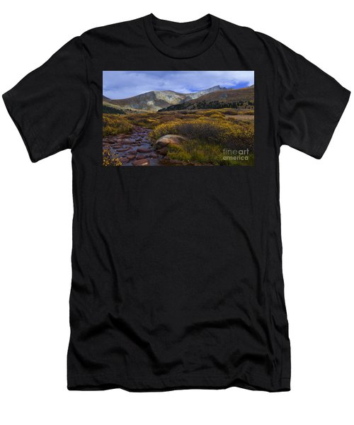 Flowing From Bierstadt Men's T-Shirt (Athletic Fit)