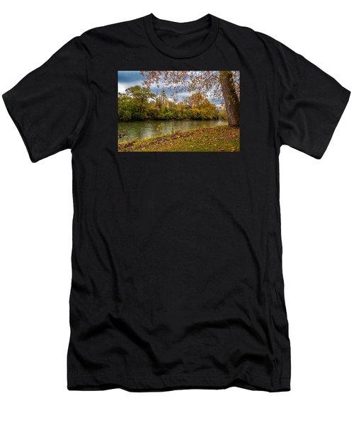 Flowing River Men's T-Shirt (Athletic Fit)