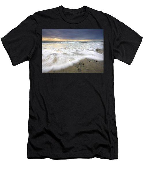 Flowing Stones Men's T-Shirt (Athletic Fit)