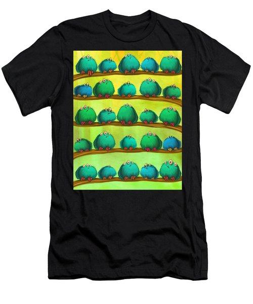 Fluff Rows Men's T-Shirt (Athletic Fit)
