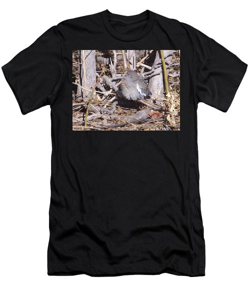Fluffy Dove Men's T-Shirt (Athletic Fit)