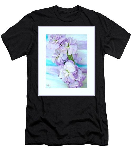 Fluffy Flowers Men's T-Shirt (Athletic Fit)