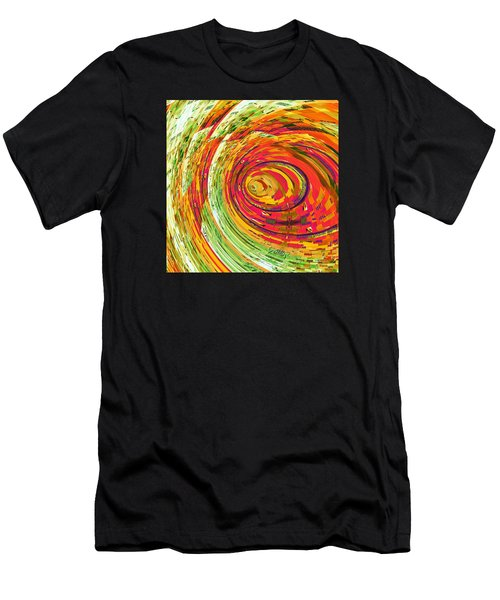 Fluorescent Wormhole Men's T-Shirt (Athletic Fit)