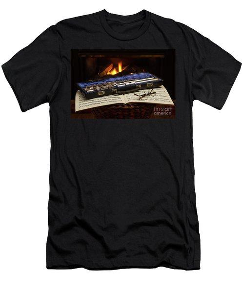 Flute Still Life Men's T-Shirt (Athletic Fit)