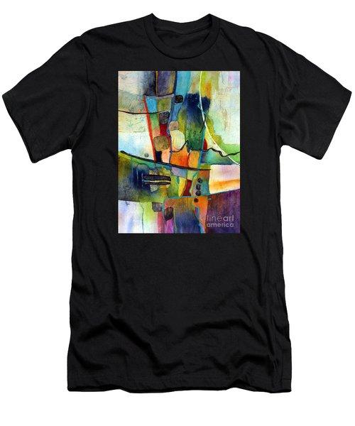 Fluvial  Mosaic Men's T-Shirt (Athletic Fit)