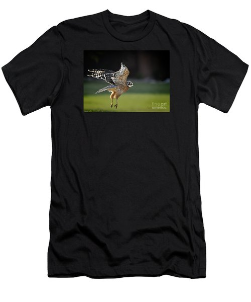 Men's T-Shirt (Slim Fit) featuring the photograph Fly Away by Nava Thompson