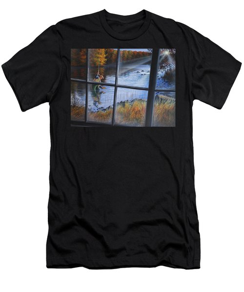Fly Fisher Men's T-Shirt (Athletic Fit)