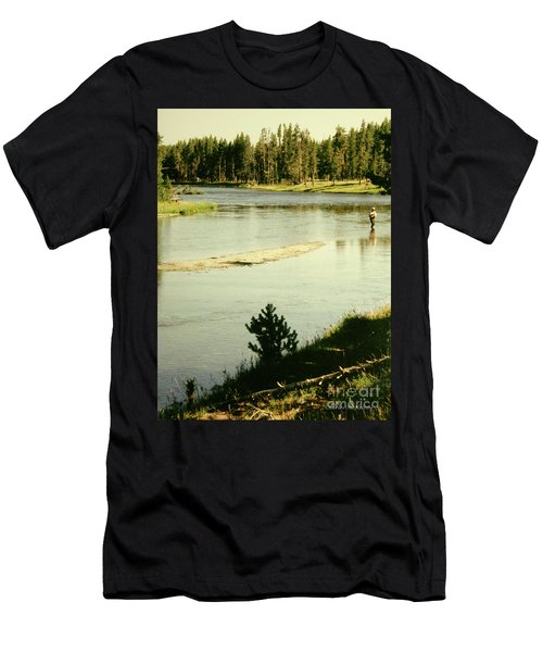Fly Fishing Men's T-Shirt (Athletic Fit)